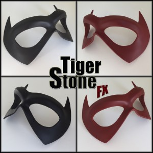 Jason Todd Red Hood mask by Tiger Stone FX