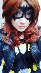 Swift Cosplay with Tiger Stone FX All Star Batgirl mask