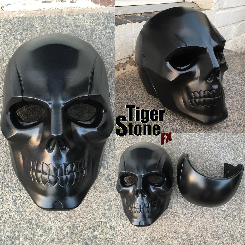 Tiger Stone FX Arkham Origins Black Mask helmet - Tiger Stone FX