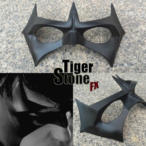 Arkham Knight Nightwing mask by Tiger Stone FX