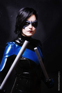Freijya with Tiger Stone FX Robin / Nightwing mask