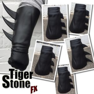 Gauntlets with interchangeable fins by Tiger Stone FX - Batman Nightwing Robin comics comic