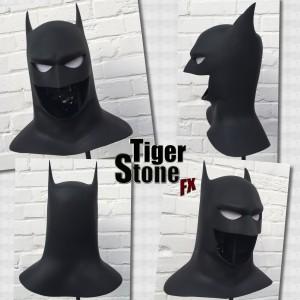 Batman The Animated Series BTAS cowl by Tiger Stone FX
