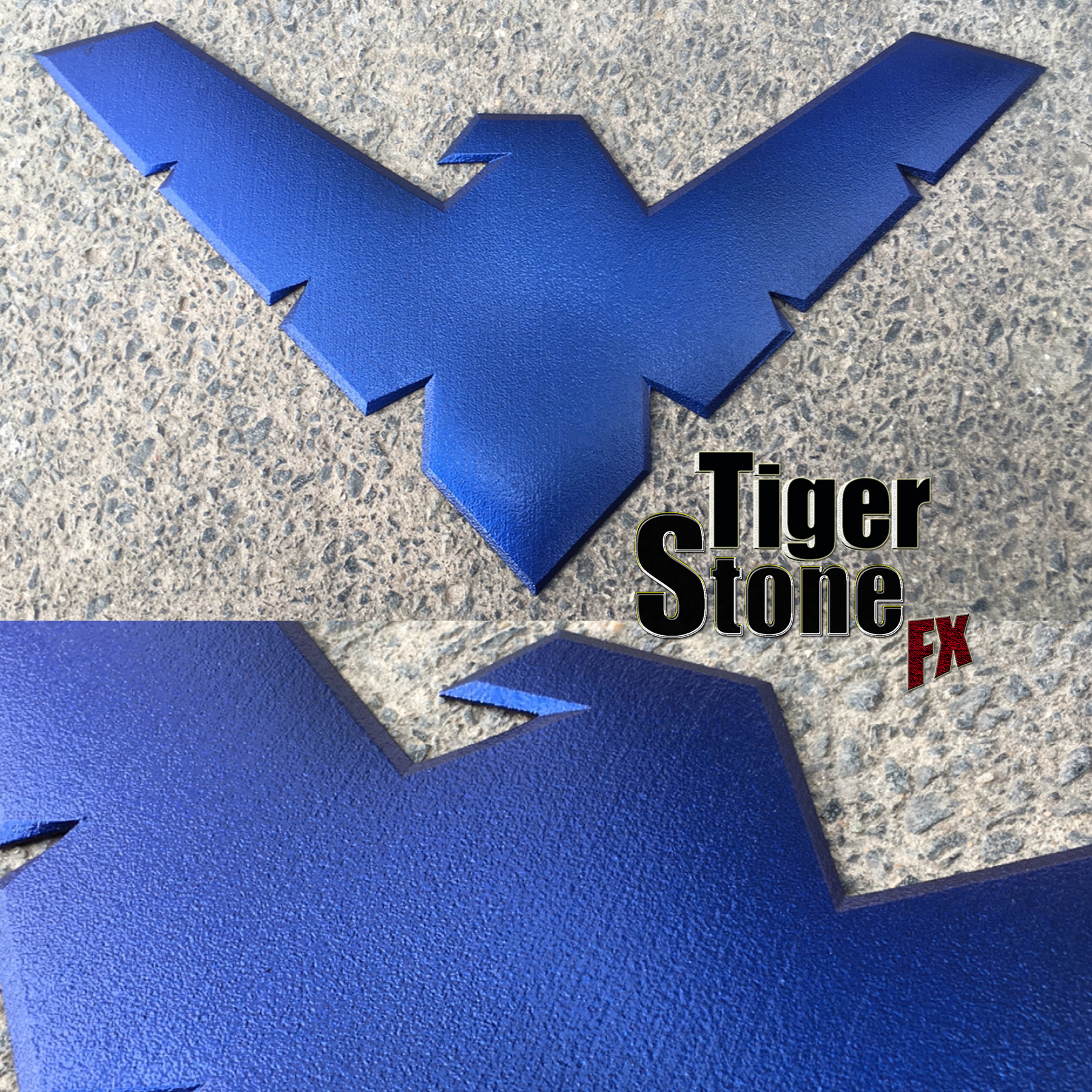 Tiger stone fx nightwing emblem buycottarizona Choice Image