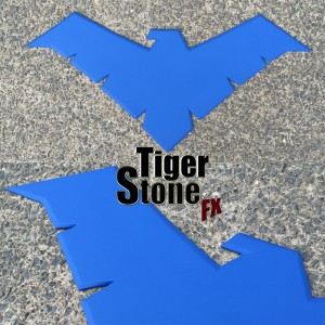 Tiger Stone FX Young Justice Nightwing emblem