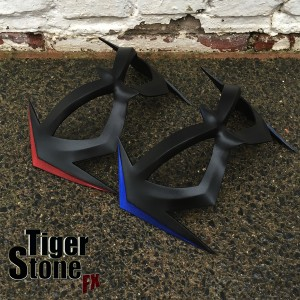 New 52 Comic Inspired Nightwing mask with Metallic highlights