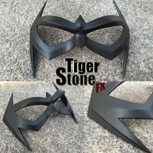 New 52 comic inspired Nightwing mask by Tiger Stone FX