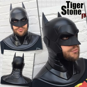 Batman Armored New 52 cosplay cowl by Tiger Stone FX