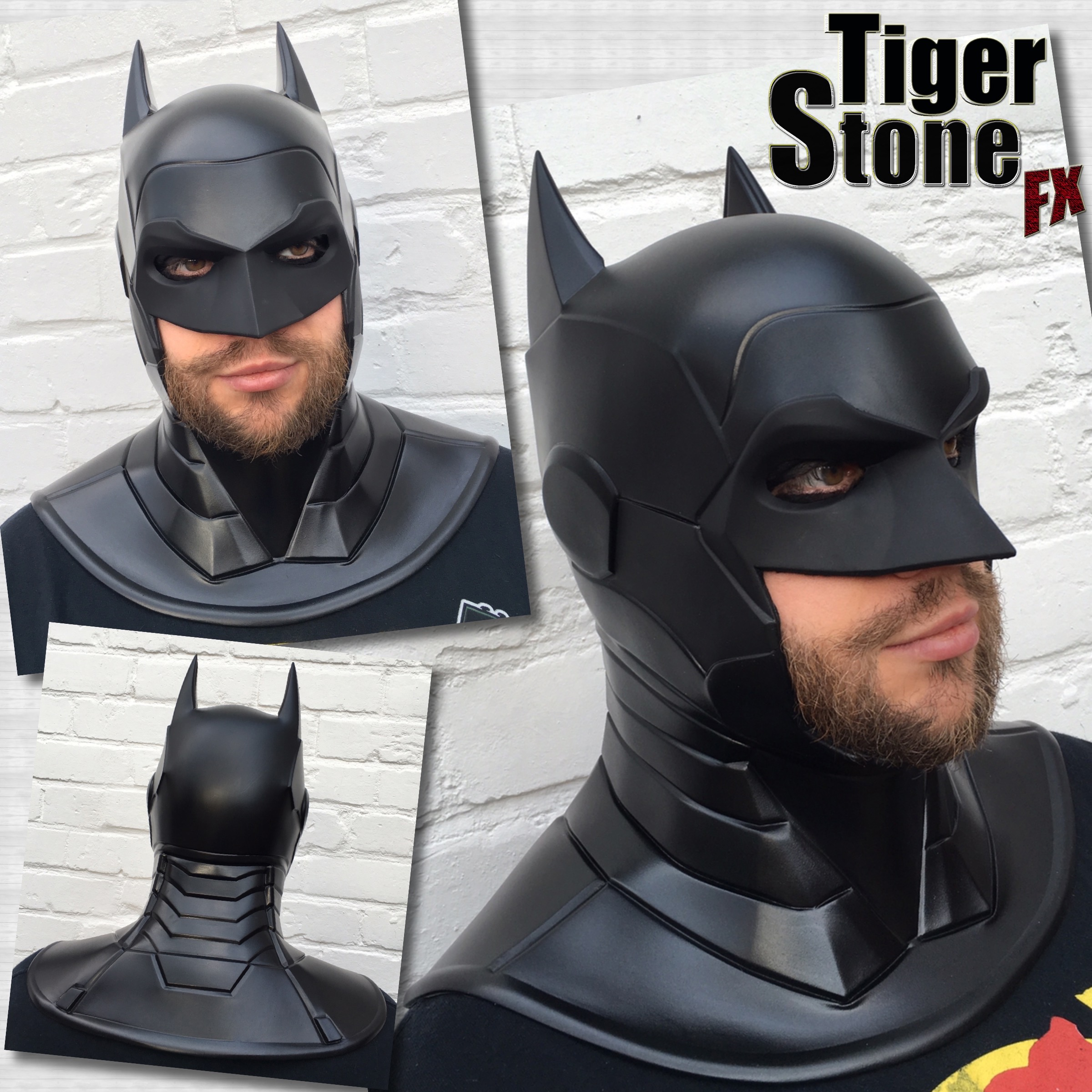 new 52 armored batman cowl by tiger stone fx