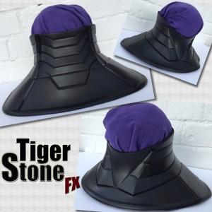 Batman New 52 cowl neck armor by Tiger Stone FX