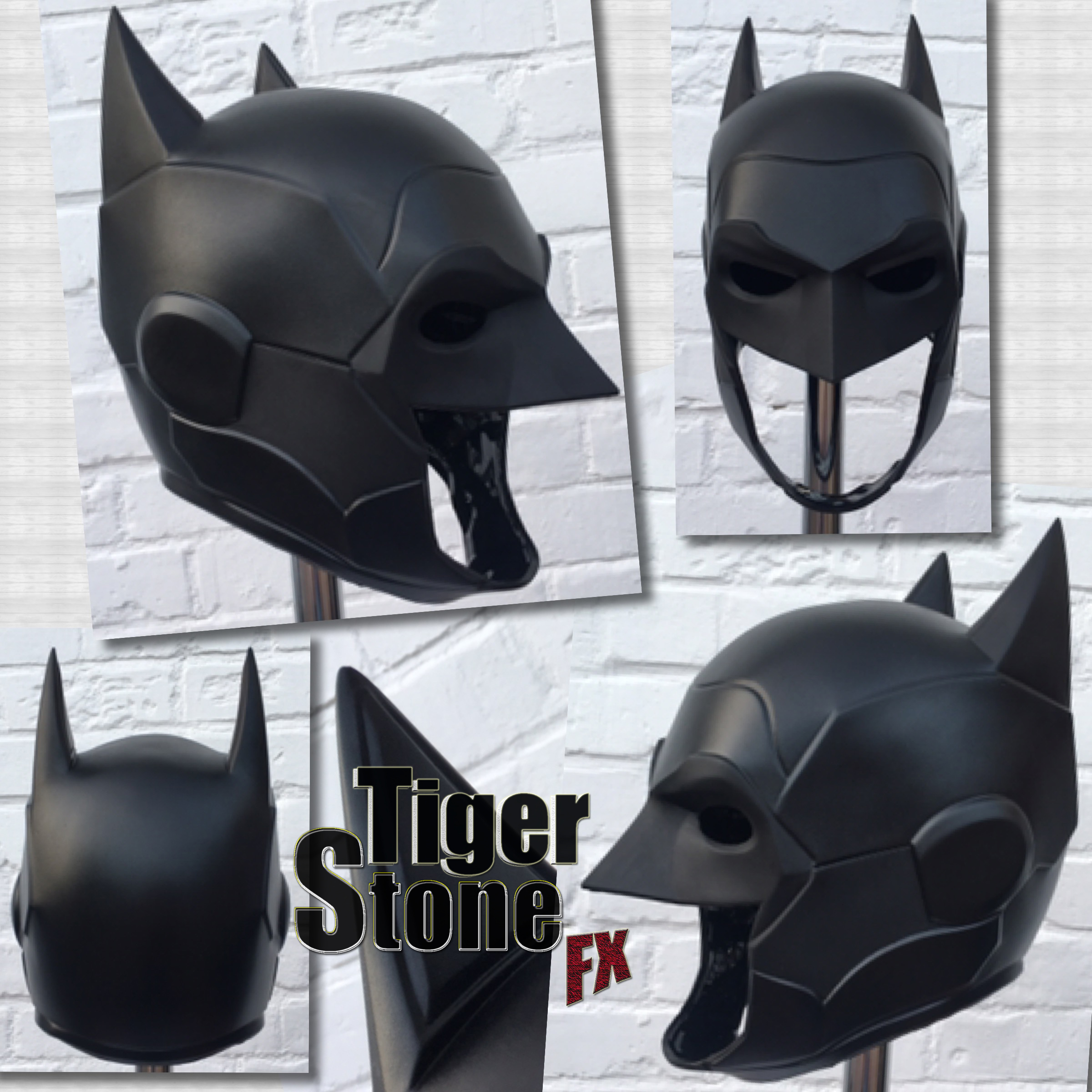 new 52 armored batman inspired cowl head piece by tiger