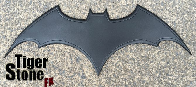 Custom commission – Batman Begins inspired chest emblem