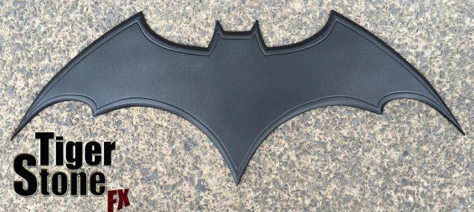 Custom commission – Batman Begins inspired chest emblem