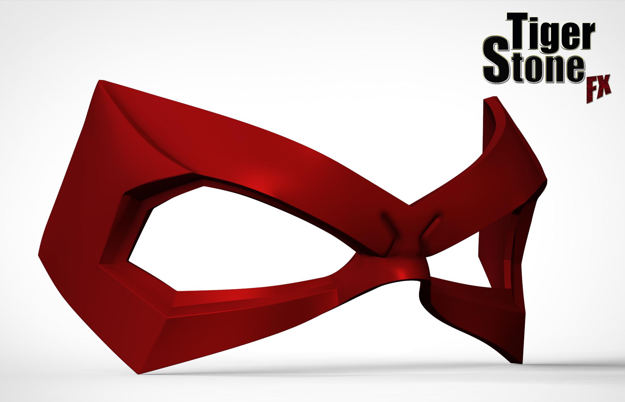 new red hood jason todd inspired mask finished sculpt. Black Bedroom Furniture Sets. Home Design Ideas