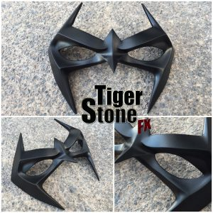 Arkham City Nightwing inspired mask - by Tiger Stone FX