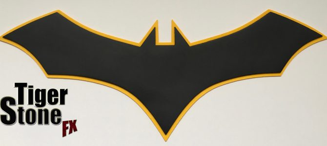 Batman Rebirth comics inspired chest emblem