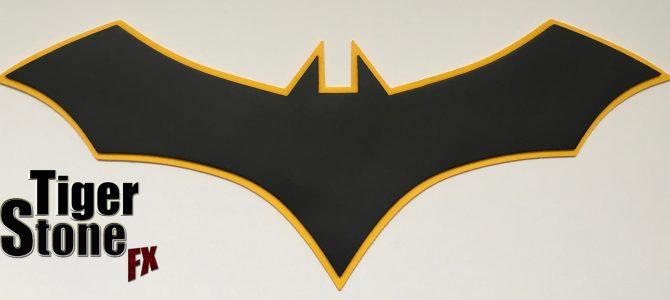 Batman Rebirth comics inspired chest emblem