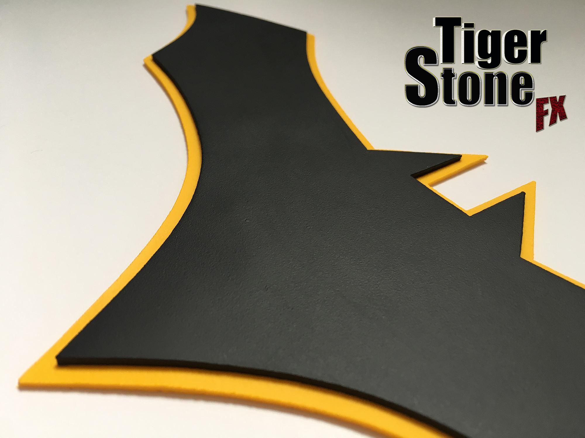 Batman Rebirth Comics Inspired Chest Emblem Tiger Stone Fx