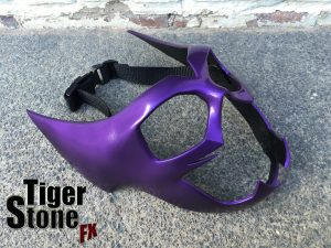 Huntress inspired Helena Wayne - Helena Bertinelli mask - made by Tiger Stone FX