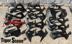 Tiger Stone FX - Nightwing Robin Jason Todd Red Hood masks size comparison