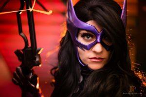 WhoaNerdAlert with Tiger Stone FX Huntress mask - Photo by TonyJuliusPhotography