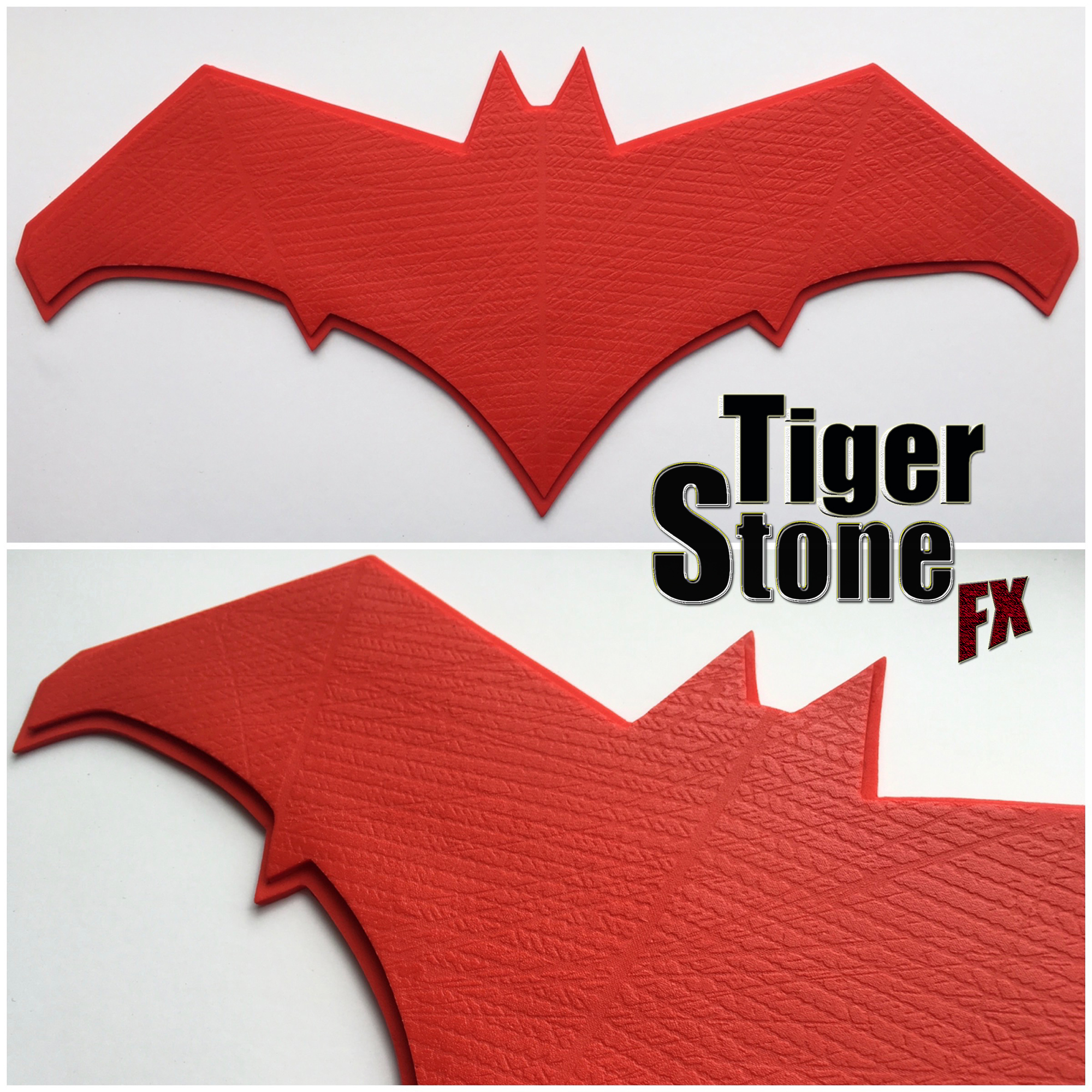 Dawn Of Justice Inspired Red Hood Chest Emblem Tiger Stone Fx
