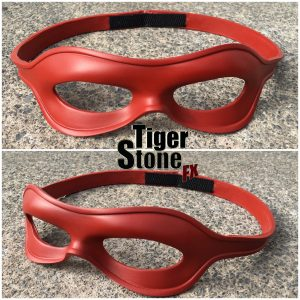 New Arsenal Speedy mask (arrow tv show inspired) - made by Tiger Stone FX