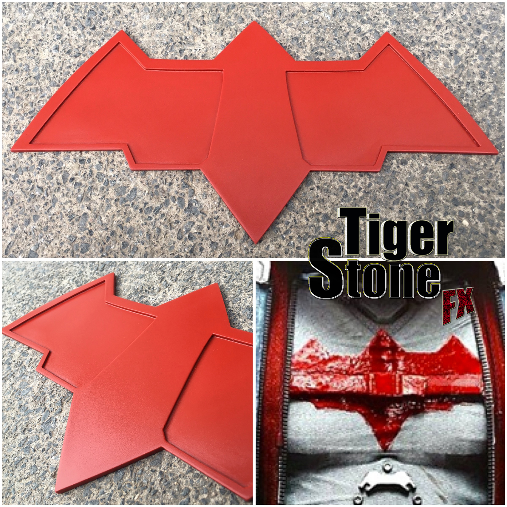 Arkham Knight Red Hood Inspired Tiger Stone Fx