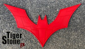 Batman Beyond inspired chest emblem by Tiger Stone FX