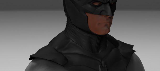 Custom commission: Batman Noël inspired cowl