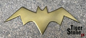 Batgirl killing joke inspired chest emblem - by Tiger Stone FX