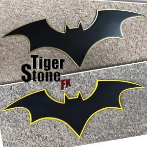 Batman Rebirth chest emblem #2 for your cosplay costume by Tiger Stone FX