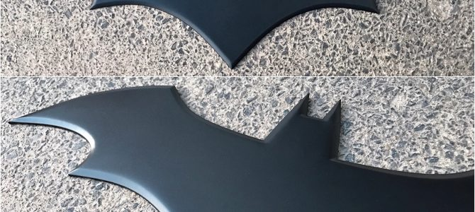 NEW – Batman chest emblem