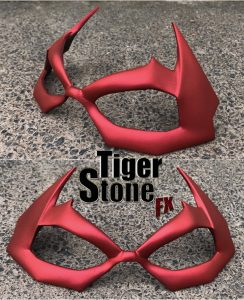 Jason Todd Hush Red Hood mask by Tiger Stone FX