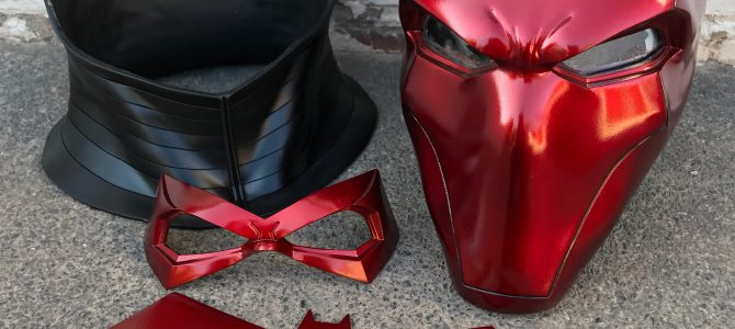 Red Hood helmet bundle