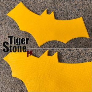 Batgirl of Burnside : Batman v Superman mashup chest emblem by Tiger Stone FX