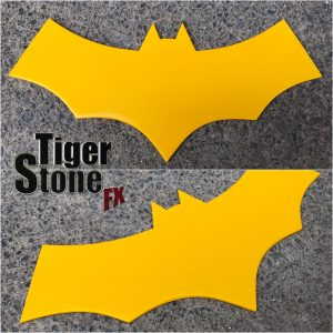 Batgirl of Burnside inspired chest emblem by Tiger Stone FX