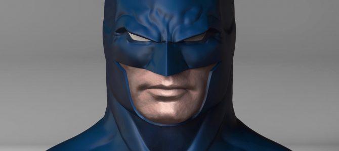 Rebirth Batman cowl (inspired by Jason Fabok's design)