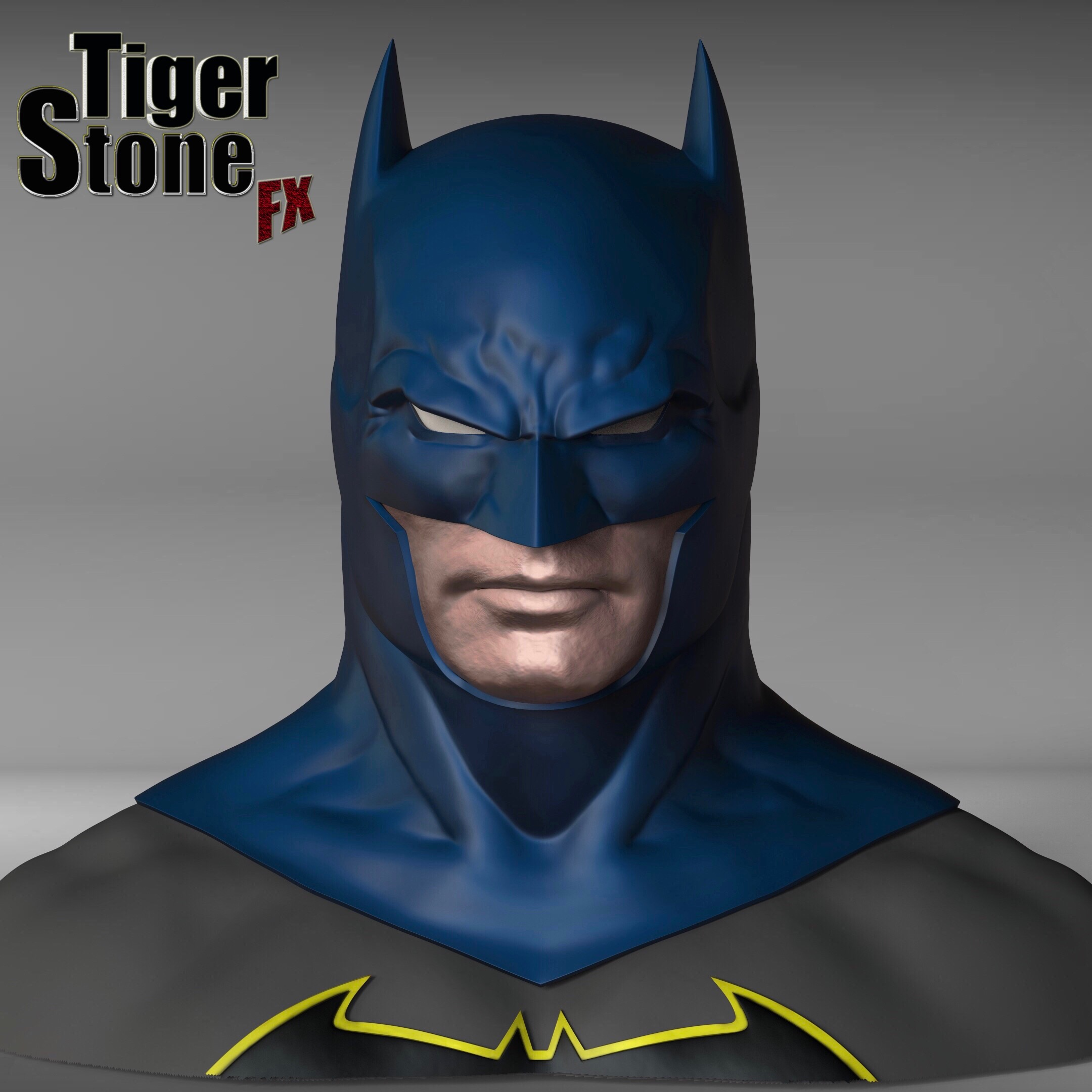 Rebirth Batman cowl (inspired by Jason Fabok's design ...