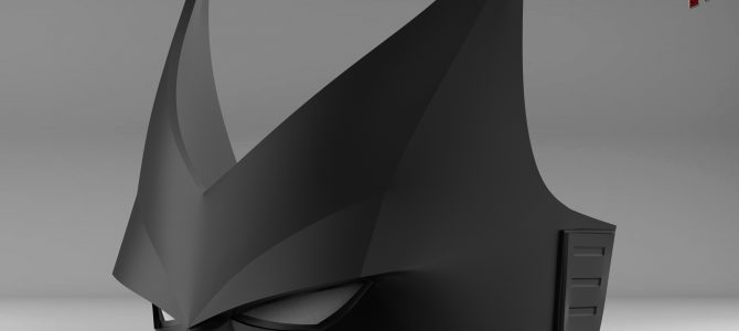 Finished sculpt of our Batwoman mask (v2)