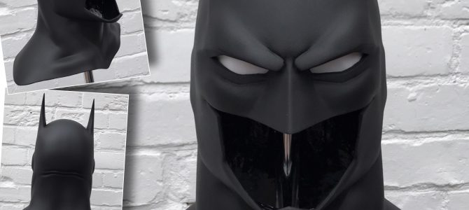 Coming soon: Justice League War Batman cowl – smaller size