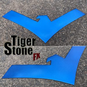 Nightwing Rebirth chest emblem for cosplay - by Tiger Stone FX