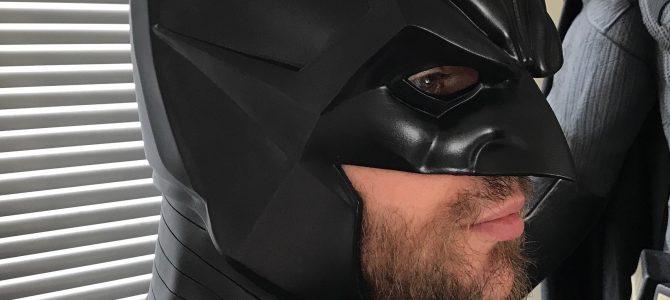 Batman Noël cowl head piece & Red Hood neck piece combo
