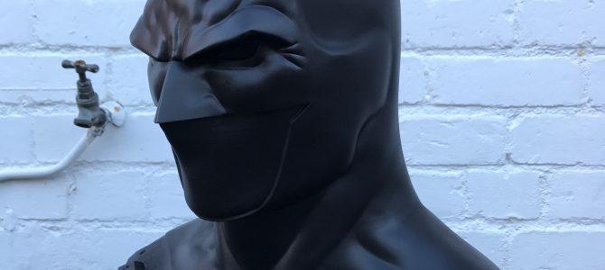 Batman Rebirth (Jason Fabok inspired) cowl & emblem – final finish/texture