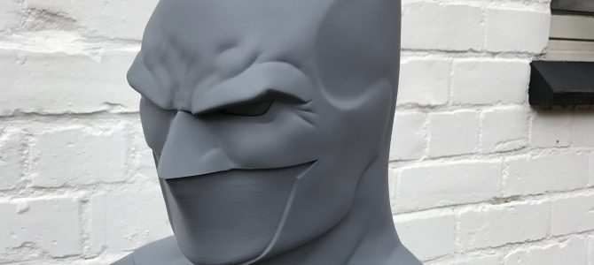 Almost done: Our Fabok inspired Batman Rebirth cowl