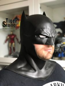 Batman Rebirth cowl by Tiger Stone FX - (Jason Fabok inspired)