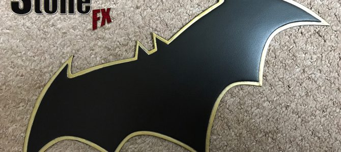 """Batman Rebirth """"The Button"""" inspired chest emblem to go with our Rebirth cowl"""