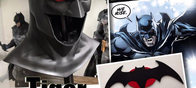 Thomas Wayne Flashpoint Rebirth emblem & cowl
