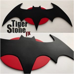 Rebirth Flashpoint Thomas Wayne emblem for your cowl : cosplay costume -_ by Tiger Stone FX