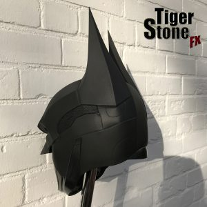 Batman Arkham Knight cowl for cosplay - by Tiger Stone FX - 3